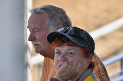 2018-08-04 (18) Peggy at Laurel Park (JLeeFleenor) Tags: photos photography md maryland marylandhorseracing laurelpark fans people owners horsepeople outside outdoors