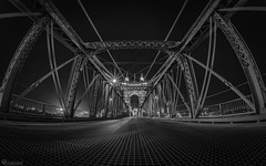 Cincinnati Ohio (dansshots) Tags: nikon nikond750 nikonphotography picoftheday travel takeatrip traveling dansshots cincinnati cincinnatiohio ohio rokinon wideangle bnw blackandwhite blackandwhitephotography blackandwhitephoto bridge d750 travelphoto travelphotography travelphotos photo photos pictures photographs photograph photography suspensionbridge architecture architecturelovers classic