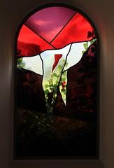 Stained Glass at Pfarrkirche Hippach Zillertal - Austria  (11) (Richard Collier - Wildlife and Travel Photography) Tags: stainedglass stainedglasswindow stained churchwindows pfarrkirche hippachzillertal austria