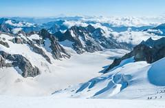 Glaciar Barre Ecrins (faltimiras) Tags: france frança francia alps alpes ecrins dome de neiges barre des glaciar glacier ice gel hielo valle moutain mountains climbing trekking hiking sunset sunrise