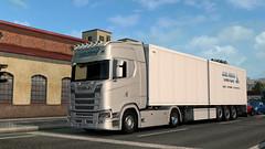 eut2_hq_5b7598dd ([johannes]) Tags: ets2 euro truck simulator 2 way exceptionnel road tuning trailer transport trucks thermo trucking axel dubois michelin super scania skin style nextgen lkw lastkraftwagen lights