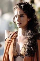Westerosi delegation to England: Princess Ellaria Martell. Wife of Prince Oberyn Martell of Dorne and head lady in waiting of Dowager Queen Baela. (Game of Thrones Arts) Tags: game thrones