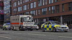 yrite mum don't make me any tea yea (Mick Steff) Tags: police cata prison strangeways manchester street road urban court van buildings car building intersection