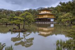 Kinkaku-ji (andyrousephotography) Tags: japan kyoto kinkakuji thegoldenpavilion golden gold rokuonji temple buddhist buddha zen zengardens lake trees