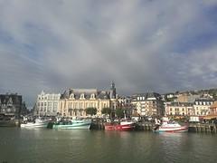 Le port de Trouville (gerrygoal2008) Tags: port harbour normandy trawlers chalutiers chalut city ville quais pier boat