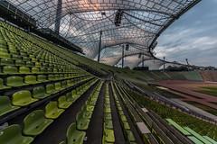 bestuhlung (dadiolli) Tags: münchen bayern deutschland de olympiapark olympiastadion munich germany freiotto zeltdach