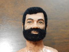 30th G.I. JOE Flocked (theskullreviews) Tags: 30th gi joe gijoe flocked black hair flocking beard anniverary