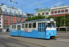 Göteborg, Drottningtorget 07.06.2018 (The STB) Tags: spårvagn göteborgsspårvägar tram tramway strassenbahn strasenbahn publictransport citytransport öpnv kollektivtrafik