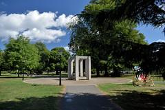"""""""Enclosure"""" Sculpture by Paul de Monchaux in Watts Park (West Park), Southampton (John D McDonald) Tags: enclosure pauldemonchaux monchaux england britain greatbritain wessex geotagged westpark wattspark westmarlands sculpture concrete centralparks southamptoncentralparks"""