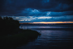 Goodnight Sun (3rd-Rate Photography) Tags: sunset sky clouds landscape stjohnsriver water river jacksonville florida 3rdratephotography earlware 365 canon 50mm 5dmarkiii reddiepointpreserve