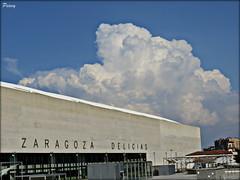 Delicias Zaragozanas (peavy30) Tags: zaragoza estacion delicias tren cielo sky tormenta lejana agosto verano 2018 aragon