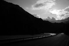 Two roads (Mi-Fo-to) Tags: barcis cimolais parco naturale dolomiti friulane park nature road river strada fiume samyang 21 14 black white paesaggio landscape mountains dolomites