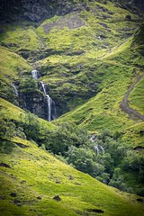 Waterfall at Glen Coe