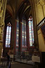 JLF19668 (jlfaurie) Tags: organ organo vitrales hautevienne limousin pentaxk5ii cathédrale vitraux saintetienne limoges mpmdf virgennegra blackvirgin taintedglass jlfr viergenoire mechas