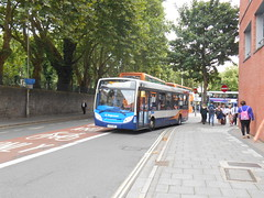 Stagecoach West 37321 (Welsh Bus 18) Tags: stagecoach west dennis dart slf 4 adl enviro200 37321 yy15owh bristol