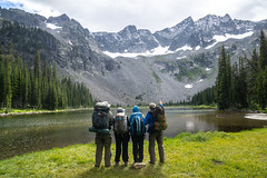Crazy Mountain Hike (Kim Tashjian) Tags: crazymountains twinlakes hike backpack mountain goats montana