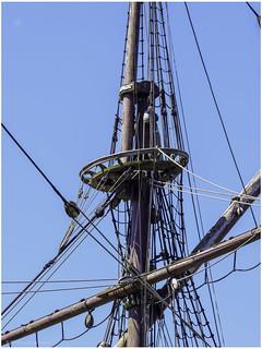 Detail the Batavia Replica VOC Return Ship