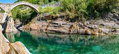 Valle Verzasca 2018 - Ponte dei Salti (karlheinz klingbeil) Tags: suisse fluss bridge river water switzerland swissalps schweiz panorama wasser ponte brücke lavertezzo tessin ch
