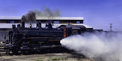 024693763760-104-Steam Locomotive-11-Film (Jim There's things half in shadow and in light) Tags: ely nevada nevadanorthernrailwaymuseum southwest usa whitepinecounty history locomotive museum rail steam train transportation railroad