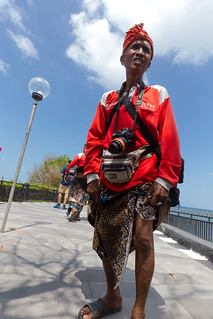 A canon photographer for tourists