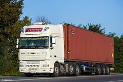DAF XF105.460 SSC (UA) (almostkenny) Tags: lkw truck camion ciężarówka ua ukraine container daf xf105 ssc superspacecab ftgxf105 pusher bh bh0211ha