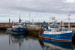 Buckie Harbour (Guido Barberis) Tags: buckie harbor scozia barca barche porto mare oceano atlantico