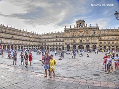 Salamanca 20180627 06 Plaza Mayor (ferlomu) Tags: arquitectura ferlomu plaza salamanca