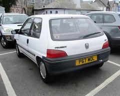 1997 Peugeot 106 XN (occama) Tags: p67mol peugeot 106 xn 1997 white old french cornwall uk 1124 small basic