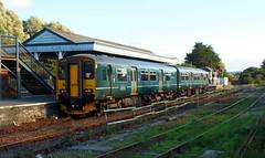 150202 Par (2) (Marky7890) Tags: gwr 150202 class150 sprinter 2n09 par railway cornwall cornishmainline train