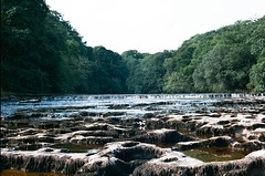 21060023 (christopher.harrall) Tags: river waterfall film ais