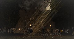 saints&sinners (DreVan1492) Tags: halloween haunted sl secondlife creepy scary gothic vampire skeleton