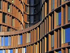 Axel Towers 2 (RobertLx) Tags: architecture lines geometric window building city modern contemporary copenhagen denmark nordic europe sunlit axeltowers curves curve abstract