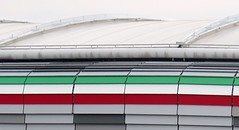 Torino, the Allianz Stadium / Juventus Stadium (Sokleine) Tags: stadium stade allianz football foot juventus architecture contemporary torino turin italia italy italie eu europe tricolore vertblancrouge