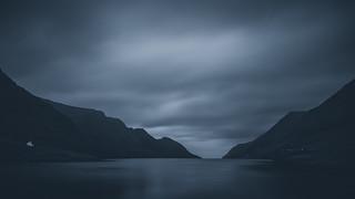 Dark fjord