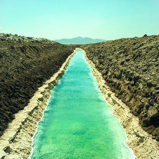 salty waters (xpro). mojave desert, ca. 2018.