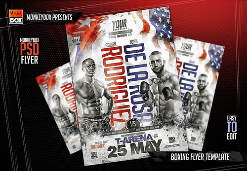 boxing flyer template a photo on flickriver