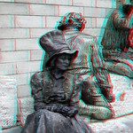 Statue OLV Antwerpen 3D thumbnail