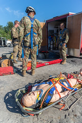 Soldiers Participate in Rope Rescue Course (West Virginia National Guard) Tags: aitec allhazardstrainingcenter armynationalguard hobet homelanddefense nationalguard roperescue specrescueinternational wvng westvirginia westvirginianationalguard madison unitedstates 840