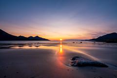 sunset in Grøtfjord (John A.Hemmingsen) Tags: tromsø troms tromvik grøtfjord nordnorge sky sunset seascape landscape fujifilm