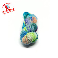 oceantwo1 (Red Door Hand Painted Yarns) Tags: red door yarn yarns knits knit knitting indie dye acid dyes hand painted cashmere merino nylon silk