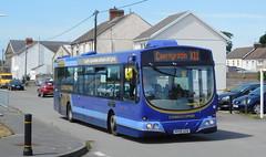 First Cymru 69383 - HY09AZA (Southern England Bus Scene) Tags: first firstcymru firstsouthwales carmarthen llanelli welshgold cymruclipper burryport pembrey 69383 hy09aza