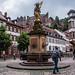 2018 - Germany - Heidelberg - Kornmarkt Madonna Fountain