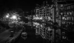Night - Riverside Norwich UK (1 of 4) (+Pattycake+) Tags: streetlights night contrast river riverwensum buildings boat architecture reflections uk norwich