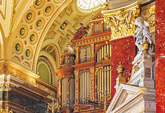 St. Stephen's Basilica (werner boehm *) Tags: wernerboehm hungary budapest ststephensbasilica organ interior