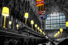 St George's Chapel (pbuschmann) Tags: chapel church cathedral windsor hdr lamps royal london england