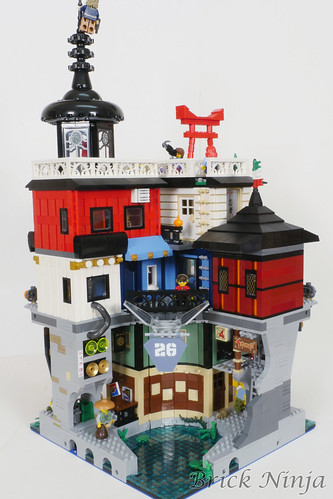 Expanding Ninjago City