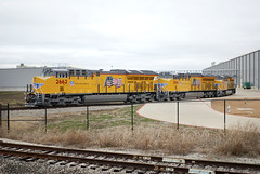 GE Plant in Justin, Texas (Travis Berryman) Tags: generalelectric ge newlocomotive locomotive evolutionseries