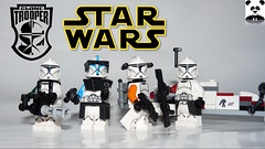 Clone Troopers  [CONTEST] #rongoclonesquad (Random_Panda) Tags: lego figs fig figures figure minifigs minifig minifigures minifigure purist purists character characters star wars scifi sci fi space troopers troops troop clone storm republic contest squad team guns blasters toy