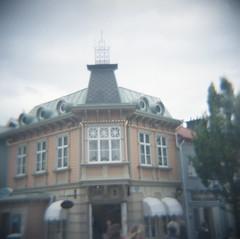 Easy Street - Liseberg (rotabaga) Tags: 6x6 sverige sweden göteborg gothenburg liseberg lomo lomography diana mediumformat mellanformat expiredfilm 120