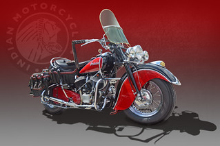Black and Red Chief - Indian Motorcycle